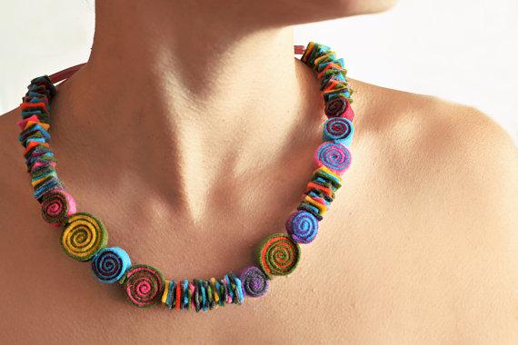 BeedABoo Felt Jewelry