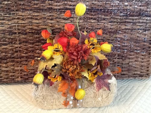 Stylish Decor Fall Centerpiece