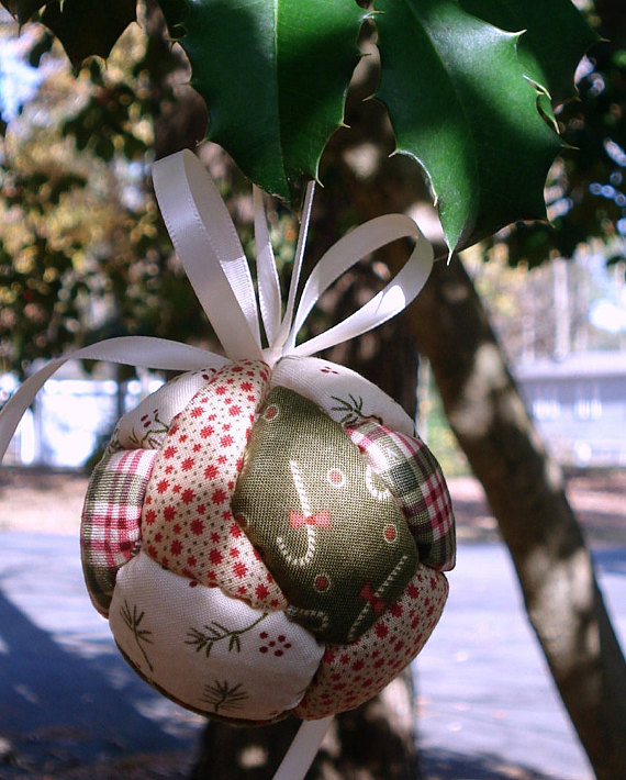LovinTheGoodOleDays Quilted Christmas Ornament