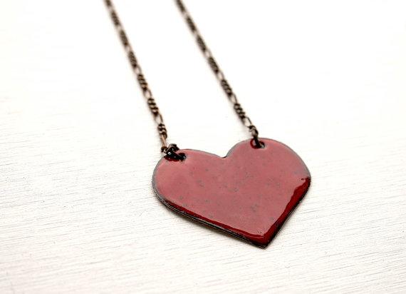 JudysDesigns Heart Necklace2