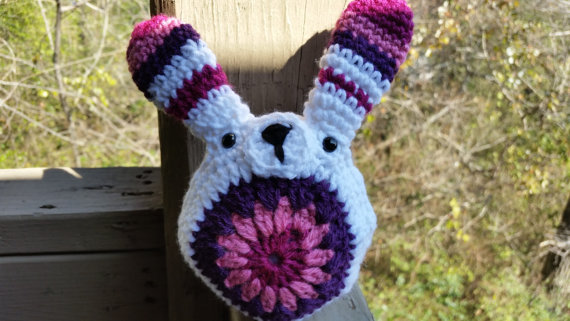 Easter Bunny Crochet Plush